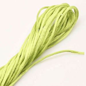 Charm thread, Polyester, Green-Yellow, 7.5m, 2.5m, (ZGJ034)